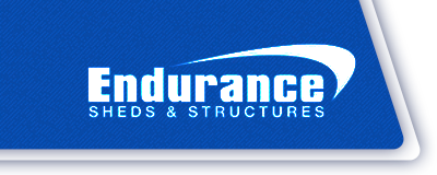 Endurance Sheds Logo